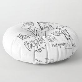 Riendo Salads- Uncovered, Discover cover page Floor Pillow