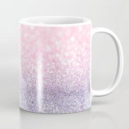 Pink and Lavender Glitter Coffee Mug