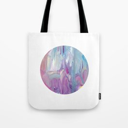 Drips and blues Tote Bag