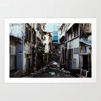 Malaysian Alley Art Print