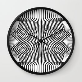 Minimal Perception Wall Clock