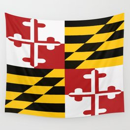 Maryland Colours Wall Tapestry