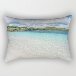 Lake Mackenzie, Fraser Island Australia Rectangular Pillow