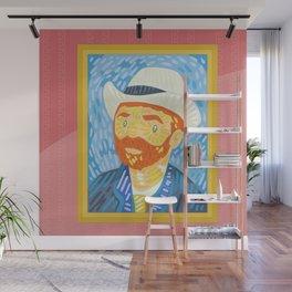 Selfie Van Gogh Wall Mural