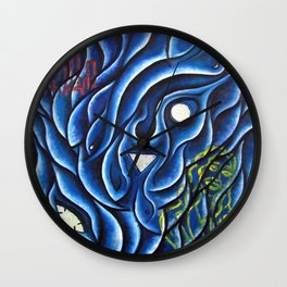 """When The Wave Came"" Wall Clock"