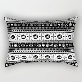 Ugly Sweater Society6 Rectangular Pillow