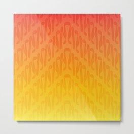 Parang Sunset (Batik) Metal Print