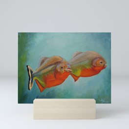 Red Bellied Fish Mini Art Print