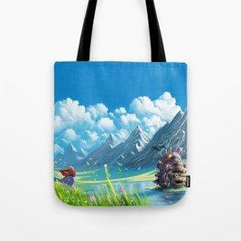 Howls Moving Castle Tote Bag