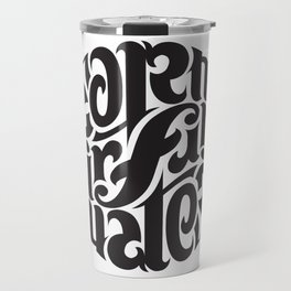 Earth Air Fire Water Travel Mug