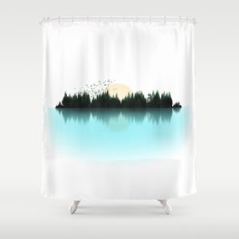 The Sounds of Nature Shower Curtain