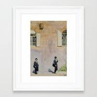 jewish Framed Art Prints featuring Jewish Quarter by Andrey Esionov
