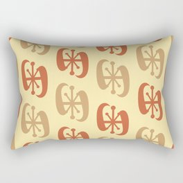 Starburst Bell Peppers Yellow Rectangular Pillow