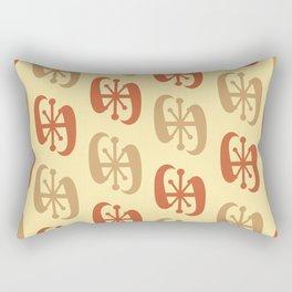 Starburst Bell Peppers Yellow Rectangular Pillow