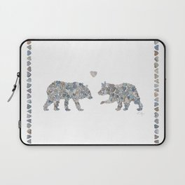 Bears by Love Rocks Me Laptop Sleeve