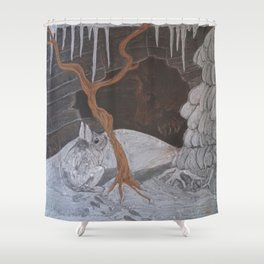 Dreaming of Spring Shower Curtain