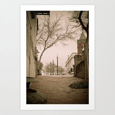 Vicksburg Downtown I Art Print