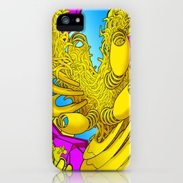 AUTOMATIC WORM 2 iPhone Case