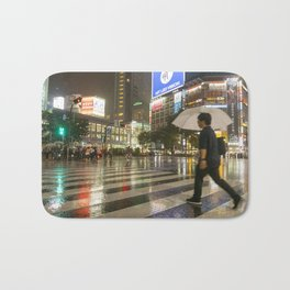 Shibuya Crossing Japan Bath Mat