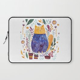 Watercolor cat Laptop Sleeve