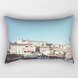 Lisbon Sky - View of Alfama Rectangular Pillow