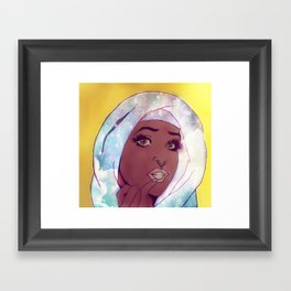 Godess Framed Art Print