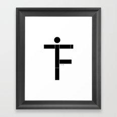 f.i.t Framed Art Print