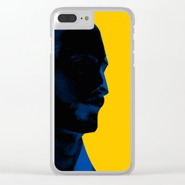 L'homme - electric Clear iPhone Case