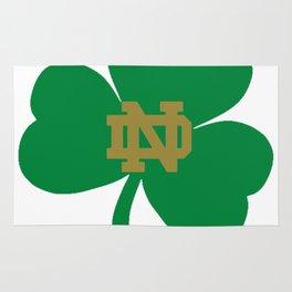 The Irish Clover in Green Rug