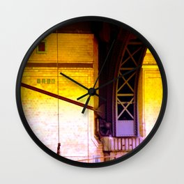 cable dance Wall Clock
