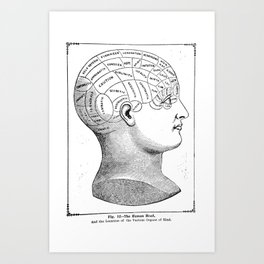 Phrenology2 Art Print