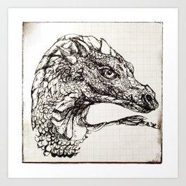 Imagine Dragon Art Print