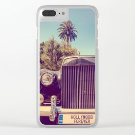 Hollywood Forever Clear iPhone Case