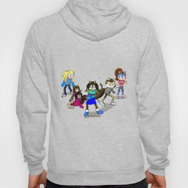 I will not let you hurt my friends!  Hoody