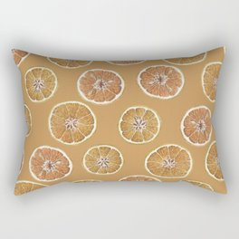 Dried Oranges Rectangular Pillow