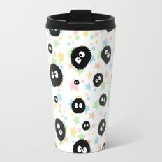 Soot Sprite with stars Travel Mug