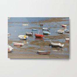 Low Tide 2 Metal Print