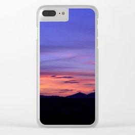 Southwest Sunrise Clear iPhone Case