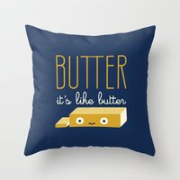 snl Throw Pillows featuring Spread the Word by David Olenick