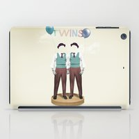 twins iPad Cases featuring TWINS by Nazario Graziano