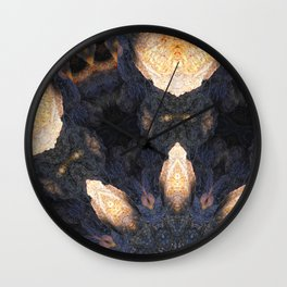Light in the cave. Wall Clock
