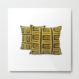 Handmade Designer Pillow Cover Metal Print