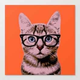 Warhol Cat 2 Canvas Print