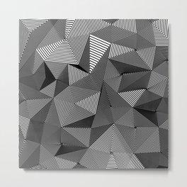 Geometric Doodle Metal Print