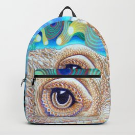 Dragon Star, Bearded Dragon Lizard Art Backpack