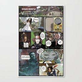 Warehouse in Wonderland Canvas Print