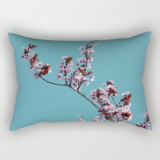 Tree in spring Rectangular Pillow