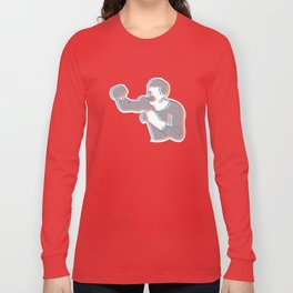Boxing Ali (coulour) Long Sleeve T-shirt
