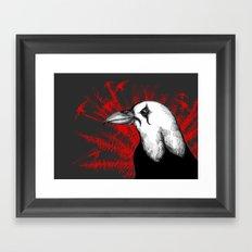 The Crow Crow Framed Art Print
