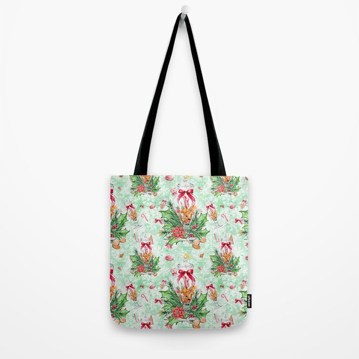 Christmas gingerbread candy cane #2 Tote Bag